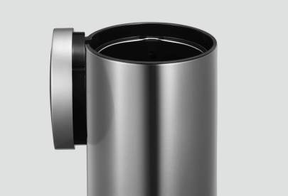 designer trash can with motion sensor